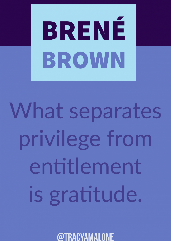 Brene Brown on entitlement