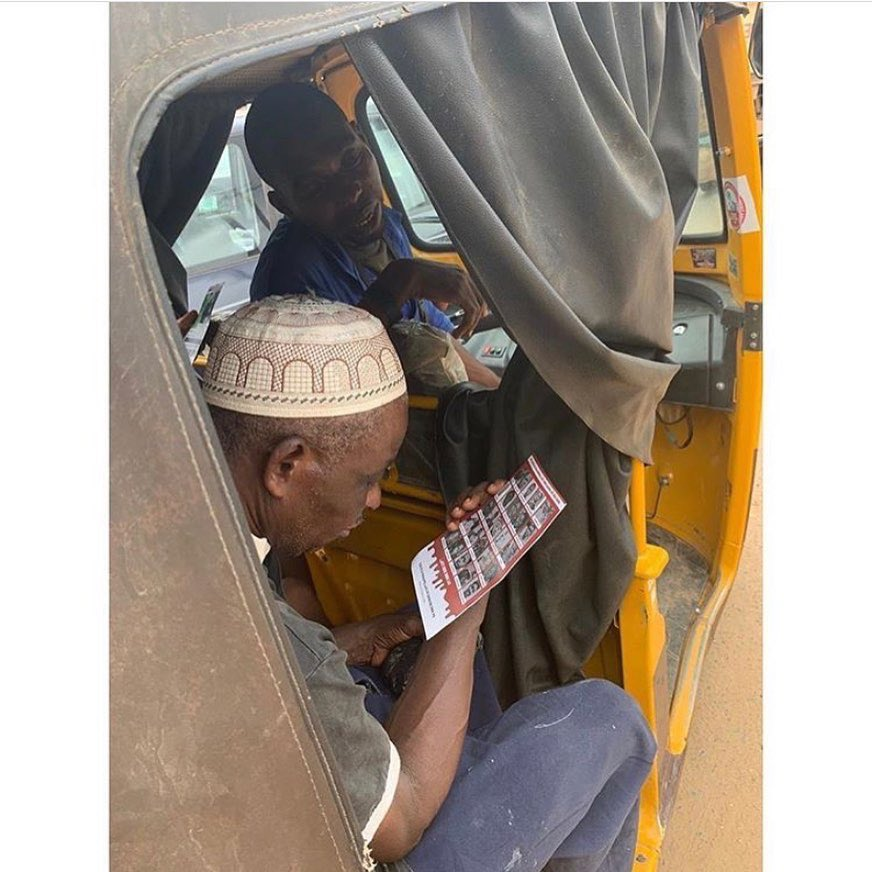 #EndSARS sensitization
