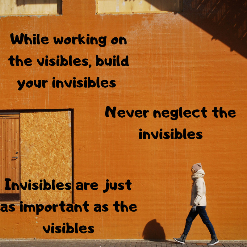 Build your invisibles